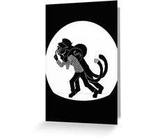 Cat Burglar Greeting Card