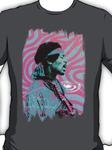 Jimi Hendrix - Psychedelic Sixties by Pepe Psyche T-Shirt