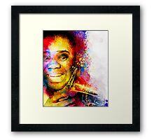 Satchmo Louis Armstrong Framed Print