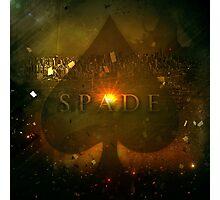 Spade Photographic Print
