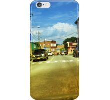 A Typical Rural Downtown Scene iPhone Case/Skin
