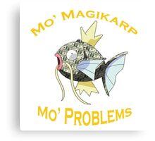 Mo Magikarp, Mo Problems Canvas Print
