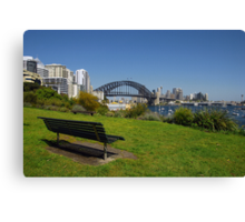 Best seat in the house... Canvas Print