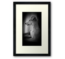 PUPPY LOVE♡ Framed Print