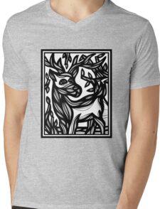 Ram, Antelope, Deer, Goat Mens V-Neck T-Shirt
