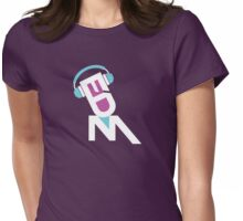 DJ EDM-dbp Womens Fitted T-Shirt