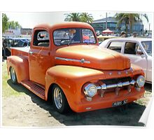 1952 Ford F100 Poster