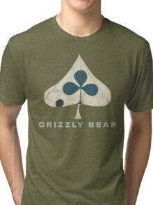 Grizzly Bear - Shields (Light Text) Tri-blend T-Shirt