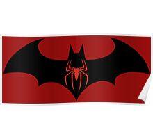 Batman VS Spider-Man Poster