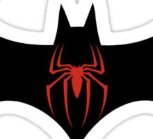 Batman VS Spider-Man Sticker