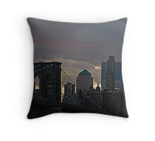 THE NEW AND THE OLD Throw Pillow