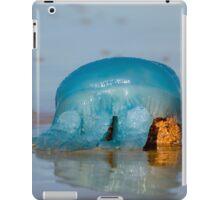 Blue Jellyfish 01 iPad Case/Skin