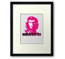 Human Rights Framed Print