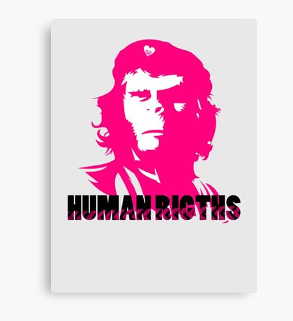 Human Rights Canvas Print