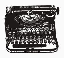 The Jack Kerouac Typerwriter Tshirt by oscarwilde