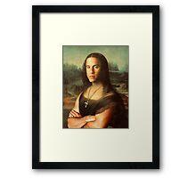 The Mona Diesel Framed Print