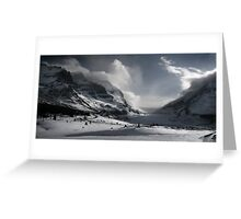 Athabasca Glacier Greeting Card