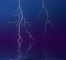 Lightning Show by Arthur Carley