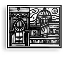 Architecture Art, Architecture Drawing, Architecture Print Metal Print
