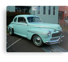 1946 Ford V8 Coupe Metal Print