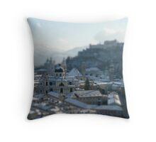 Pocket Cathedral | Salzburg Throw Pillow