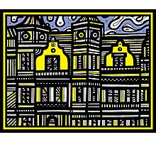 Architecture Art, Architecture Drawing Photographic Print