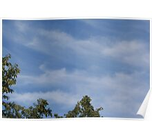 A picture perfect sky Poster