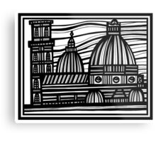 Architecture Art, Architecture Drawing Metal Print