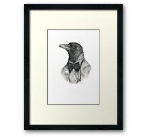 dapper crow Framed Print