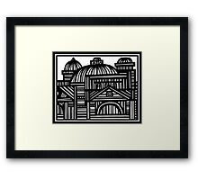 Architecture Art, Architecture Drawing, Architecture Print Framed Print