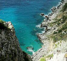 Capri Cliffs by James Ritchie