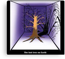 The Last Tree on Earth Canvas Print