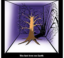 The Last Tree on Earth Photographic Print