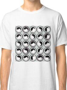 Matryshka Heads Pattern Classic T-Shirt