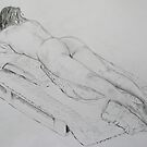 Life Drawing 5 by Mike Paget