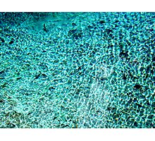 Blue Waters Photographic Print