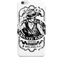 Wanted Pirate King iPhone Case/Skin