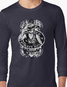 Wanted Pirate King Long Sleeve T-Shirt