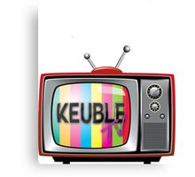 Keuble Tv Canvas Print