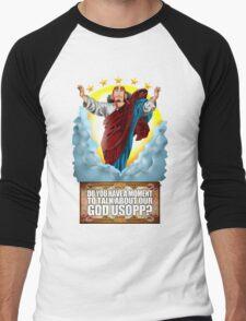 god Usopp One Piece Men's Baseball ¾ T-Shirt