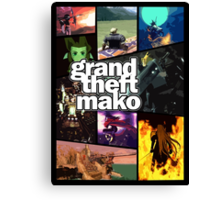 Grand Theft Mako Canvas Print