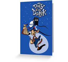 Day of the Dalek Greeting Card