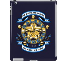 No Guts, No Glory iPad Case/Skin