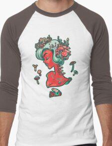 Madamme Mush Men's Baseball ¾ T-Shirt
