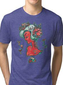 Madamme Mush Tri-blend T-Shirt