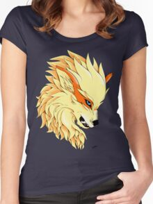 Arcanine's Rage Women's Fitted Scoop T-Shirt