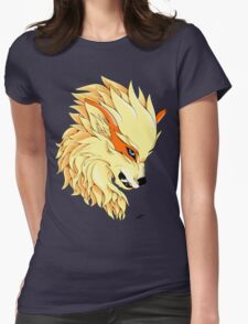 Arcanine's Rage Womens Fitted T-Shirt