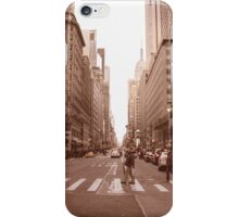 New York Street scape iPhone Case/Skin