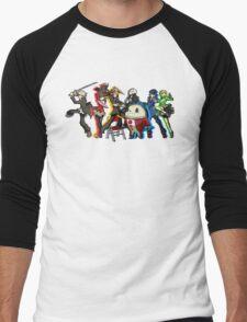 Persona 4 TWEWY style Men's Baseball ¾ T-Shirt