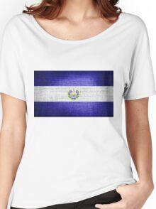 El Salvador Flag Women's Relaxed Fit T-Shirt